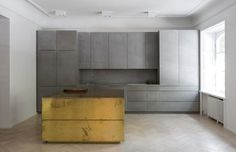 Gold and Gray Apartment - Richard Lindvall