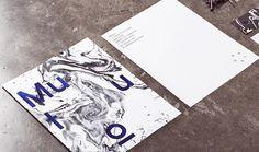 Mutuo | Manifiesto Futura #stationery #marble #branding #typography