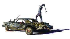#illustration #Mark Maggiori #wreck #destroy