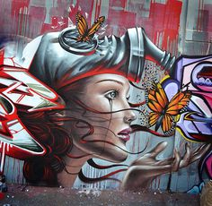 Excellent Street Art by Destroy