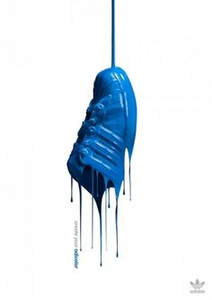 Adidas : Create Your Adicolor | Fubiz™ #adidas #trainer #photo #adicolour #paint