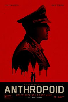 "Anthropoid (2016)  tagline: ""Resistance has a code name"" #poster #cinema #film"