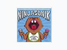 NinjaSonik - SGGP #ninjasonik #record #illustration #hop #music #type #hip #typography