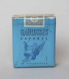 Gauloises Caproal vintage cigarettes #cigs #pack