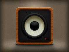 Microlab Speaker icon on the Behance Network #icon