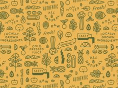 Green Lane Pattern #graphic #clean #fun #simple