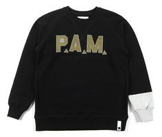 PAM 2009 Fall/Winter: Planet Sauvage | Hypebeast #perksmini #black #gold #sweater #fashion #spam