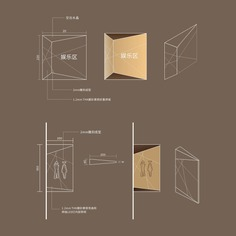 Office Building wayfinding | Signage | Sign Design | Wayfinding | Wayfinding signage | Signage design | Wayfinding Design | 立体多面形商务型酒店卫生间标识效果图