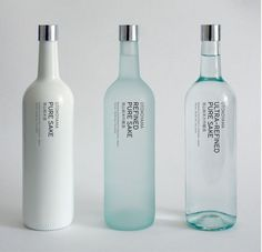 noemielau:http://designspiration.net/image/115952298944/ #branding #bottle #clean #minimal #swords