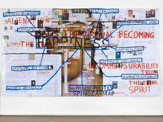 ARNDT - THOMAS HIRSCHHORN (ARTIST) #happiness