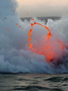 chill vibes #lava #volcano
