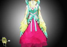 Custom Made Magi Kougyoku Ren Cosplay Costume Outfits #kougyoku #costume #ren #cosplay