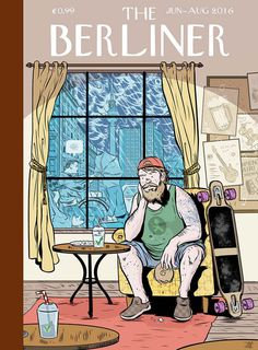 Digital Illustrations for Magazines by Rafael Alvarez