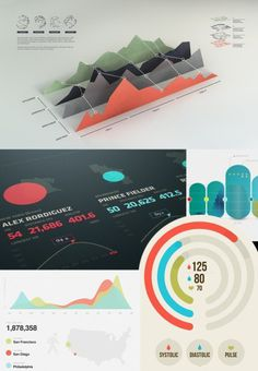 UI Designs Elements #infographic #ui