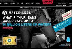 LEVI'S WATERLESS #pants