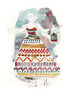 Lady Ciled leciel #illustration