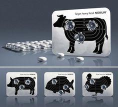 lovely-package-target-heavy-food1.jpg 610×554 pixels #packaging #targets #illustration