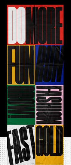 Poster Compressed | Font on Behance