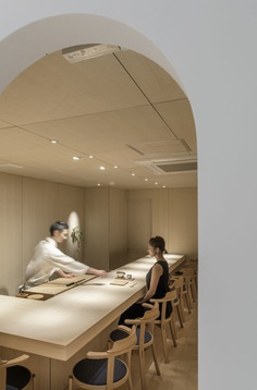 Sushi Isono by Jun Igarashi Architects