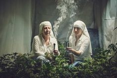 Photographers Document a Nuns Who Grow And Sell Weed