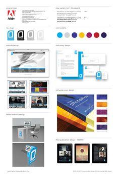Adobe System Rebrand #computer #illustrator #seanadams #software #rebrand #system #photoshop #artcenter #cs #justinchen #adobe