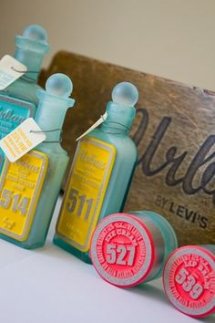 Student Spotlight: Levi's Bath and Body - TheDieline.com - Package Design Blog #classy soapsss