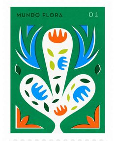 stamp, stamps, flower, flowers, abstract, shape, bright