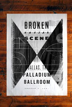Broken Social Scene Poster #single #color