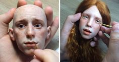 #doll #freckles #face