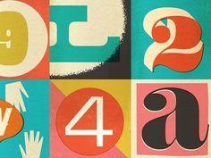 FFFFOUND! | Dribbble - letters n stuff by Dustin Wallace
