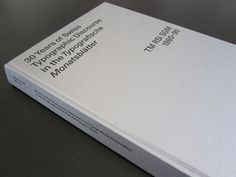 30 Years of Swiss Typographic Discourse in the Typographische Monatsblätter TM RSI SGM 1960-90 #type #mller