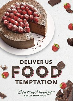 Central Market print campaign #print #food #advertising