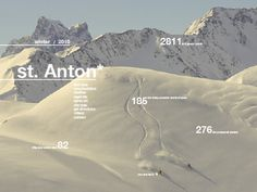 St Anton Website #interactive #design #clean #website #web #typography