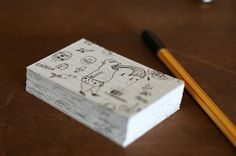 Matías Fiori : Lovely Stationery . Curating the very best of stationery design #fiori #namecards #for #doodled #matias