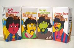 Beatle Juice #packaging #beatles #juice #the