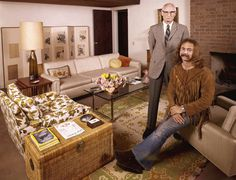 David Crosby With His Father, 1970 | LIFE With Rock Stars … and Their Parents | LIFE.com #photo