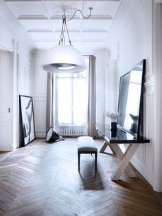The House Of Patrick Gilles #paris #white #minimal #pure