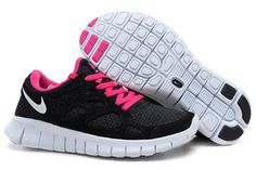 Nike Free Run 2 Woven Liberty Black Pink Womens Shoes #shoes
