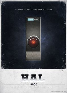 All sizes | HAL 9000 Advertisment | Flickr - Photo Sharing! #post #kubrick #hal #fiction #vintage #poster #film #science #stanley