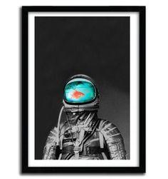 UNDERWATER ASTRONAUT by Budi Satria Kwan