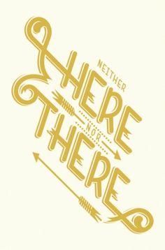 PrettyClever #arrow #type #typography