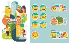 Tawkon on the Behance Network #illustration