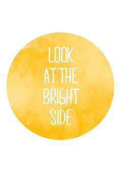 ...bright side #type #design