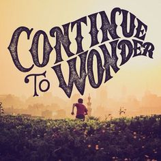 Wonder by Simon and Moose #inspiration #vintage #typography