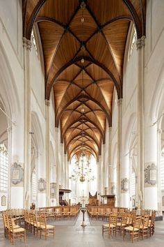CJWHO ™ #history #church #design #interiors #wood #photography #architecture #ardini #valerie
