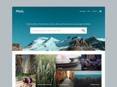 iStock rebrand #search