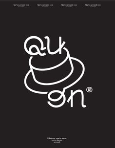 quon branding corporate design identity leather custom type by this is pacifica designblog inspiration www.mindsparklemag.com