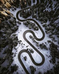 #instaroads: Stunning Drone Photos of Roads by Fabian Frost
