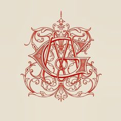 Typeverything.comGM Monogram by Ginger Monkey. #monogram