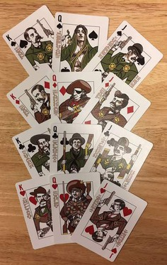 Wild West Bicycle Playing Cards - Lawmen